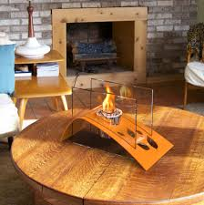 furniture coffee tables with fire ideas adding warmth atmosphere