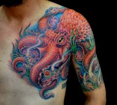 octopus chest tattoo 5 best tattoos ever