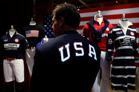 Ceremony Flag Ralph Lauren U0027s Olympic Uniforms Are Patriotic Made In America