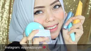 tutorial make up wardah untuk pesta wardah kosmetik one brand makeup tutorial ayyunazzuyyin makeup