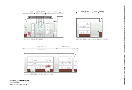 Small Loft Apartment Floor Plan Brahmin Atlanta Design Elevations Sheet 2 Mandarina Studio