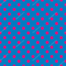 blue halloween background seamless vector pattern background or texture with neon pink