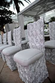 rosette chair covers 110 best chair covers images on chairs wedding chairs