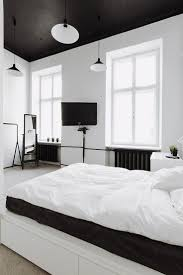 Black White Interior by 205 Best Chambre à Coucher Images On Pinterest Bedroom Ideas