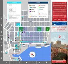 St John Map 2015 Uptown Map And Directory Uptown Saint John