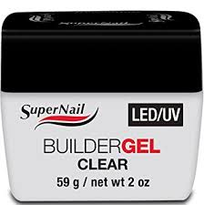 amazon com supernail led uv builder gel clear 56g 2oz beauty