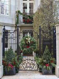Quick Outdoor Christmas Decorations by Short In Stature But High On Impact These Potted Trees Make For