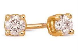 diamond ear studs buy gorgeous american diamond ear studs online best prices in