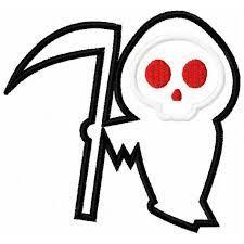 cute grim reaper coloring pages google search cute g reaper