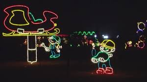 old settlers park christmas lights plug pulled on rock n lights in round rock story ktbc