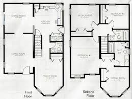 2 story house blueprints storey house plans home design ideas designs story floor