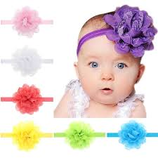 lace headwear aliexpress buy big chiffon soft flowers hair bands solid