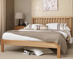 thornton oak 4ft small double bed frame just 4ft beds