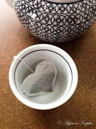 heart shaped tea bags diy heart shaped tea bags aspire to inspire