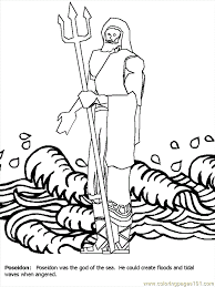greek gods coloring pages 446870