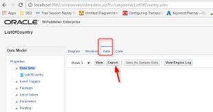 create a bi publisher report using rtf template template builder