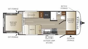 Fleetwood Wilderness Travel Trailer Floor Plans New 2018 Outback Ultra Lite 210urs For Sale 15227