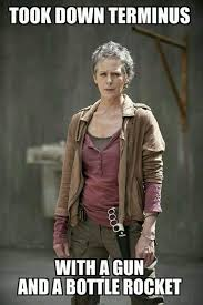 Carol Twd Meme - and a herd and a trick rick taught us all in season 1 walking