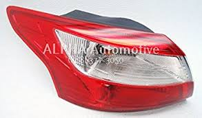 2014 ford focus tail light amazon com 2012 2014 ford focus sedan left driver side tail light