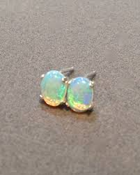green opal earrings real opal stud earrings gallery jewelry design examples