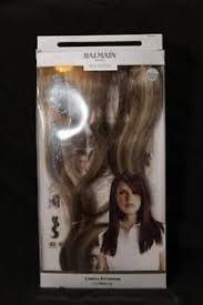 runway hair extensions balmain runway hair length extension new bag box sand
