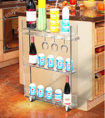 Acrylic Bathroom Shelves by Aliexpress Com Buy Rolling Acrylic Kitchen Storage Rack With