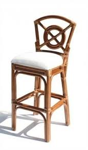 leather rattan bar stool foter