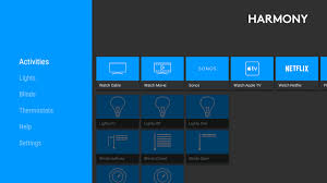 Home App Logitech S Harmony App Brings Smart Home Control To Android Tv