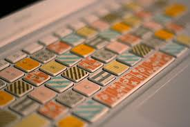 things to do with washi tape diy washi tape laptop keyboard her new leaf