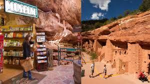 Adobe Pueblo Houses Manitou Cliff Dwellings Manitou Springs Co