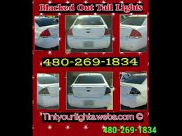 blacked out tail lights legal 480 269 1834 blacked out tail lights legal cheapest in az youtube