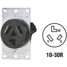 leviton 3 wire dryer power outlet r30 05207 s10 do it best