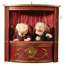 2008 statler and waldorf muppet show hallmark ornament at hooked