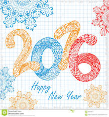 cards happy new year decorative greeting card happy new year 2016