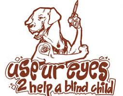 Blind Charity Cartoon Illustration For Charity Use Your Eyes To Help A Blind