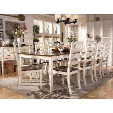 ashley furniture farmhouse table whitesburg collection by ashley furniture cottage style charm in