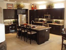 kitchen ideas charming espresso kitchen island design home furniture style