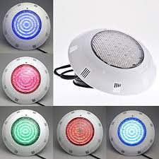 7 colors changing underwater swimming pool light 252 leds