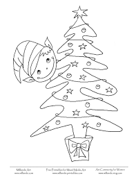 elf on the shelf coloring pages getcoloringpages com