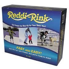 Backyard Rink Kit by Reddi Rink E Z Freeze Ice Rink Kit