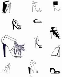 craftside how to draw 12 types of shoes from the book 20 ways to