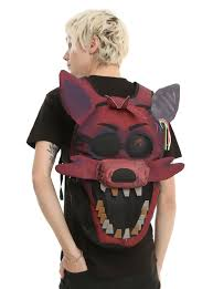 five nights at freddy s halloween horror nights five nights at freddy u0027s foxy face backpack topic