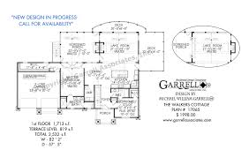 walkers cottage 2532 2car house plans by garrell associates inc