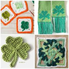 free crochet patterns for st patrick u0027s day daisy cottage designs