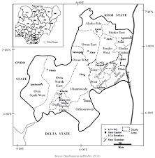 Nigeria State Map by Medicinal Plants Used For The Treatment Of Rheumatism By Amahor