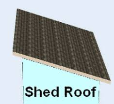 shed style roof basic roof styles