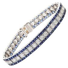 sapphire bracelet with diamonds images 92 best tennis bracelets necklace images tennis jpg
