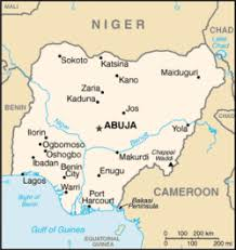 map of cities list of cities in nigeria