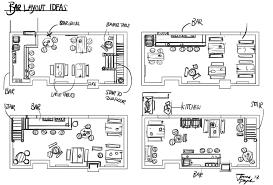 home design pleasing bar design layout bar layout design ideas