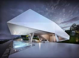 unique roof architecture design of modern style homes